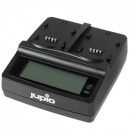 JUPIO Chargeur double Canon LP-E6