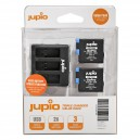 Kit 2x Batteries GoPro HERO8+ Chargeur triple